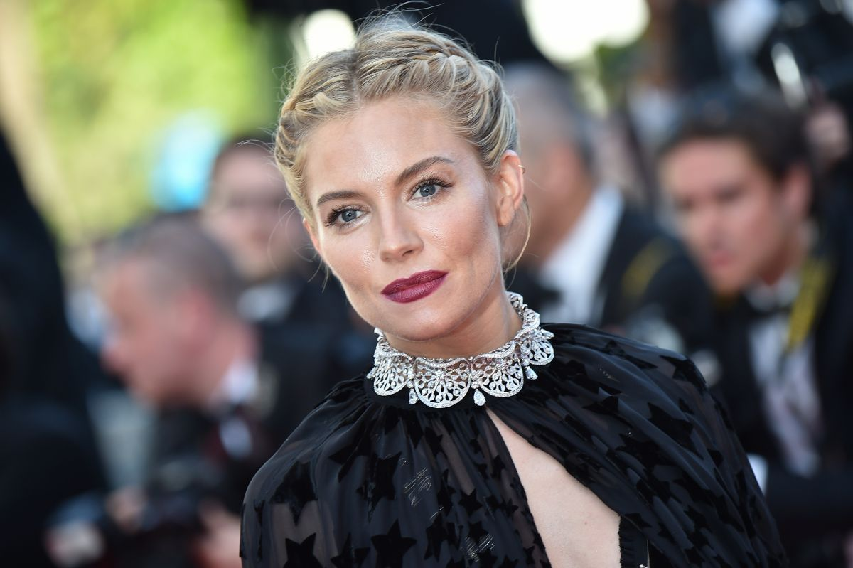 SIENNA MILLER at Carol Premiere at Cannes Film Festival
