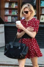 SIENNA MILLER in Out in New York 05/04/2015