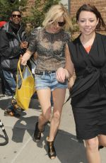 SIENNA MILLER Out and About in New York 05/03/2015
