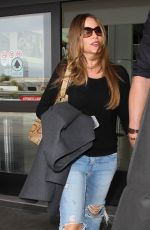 SOFIA VERGAR at LAX Airport in Los Angeles 05/06/2015
