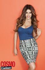 SOFIA VERGARA in Cosmo for Latinas Magazine, Summer 2015 Issue