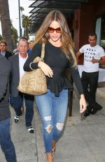 SOFIA VERGARA in Jeans Out and About in Beverly Hills 05/08/2015