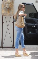 SOFIA VERGARA in Ripped Jeans Out in Beverly Hills 05/11/2015