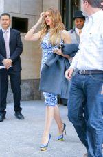 SOFIA VERGARA Leaves Her Hotel in New York 05/05/2015