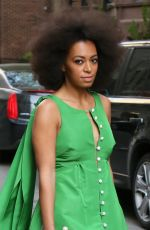 SOLANGE KNOWLES at Pioneer Works 2nd Annual Village Fete in New York