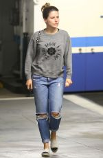 SOPHIA BUSH in Ripped Jeans Out and About in Beverly Hills 05/18/2015