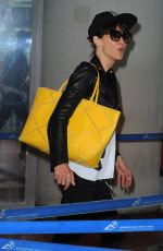 SOPHIE MARCEAU at Airport in Nice 05/25/2015
