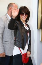 SOPHIE MARCEAU at Airport in Nice