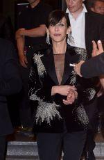 SOPHIE MARCEAU Leaves Marriott Hotel in Cannes 05/16/2015
