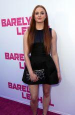 SOPHIE TURNER at Barely Lethal Premiere in Los Angeles