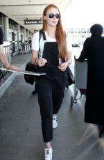 SOPHIE TURNER at Los Angeles International Airport 05/28/2015