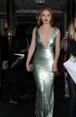 SOPHIE TURNER at MET Gala 2015 in New York
