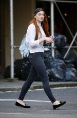 SOPHIE TURNER Out and About in Manhattan 05/03/2015