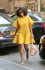 SPLANGE KNOWLES Out and About in New York 05/03/2015