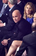 STEFFI GRAF and Andre Agassi at Mayweather vs Pacquiao Boxing Match in Las Vegas