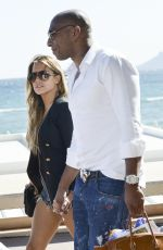 SYLVIE VAN DER VAART Out and About in Cannes 05/21/2015