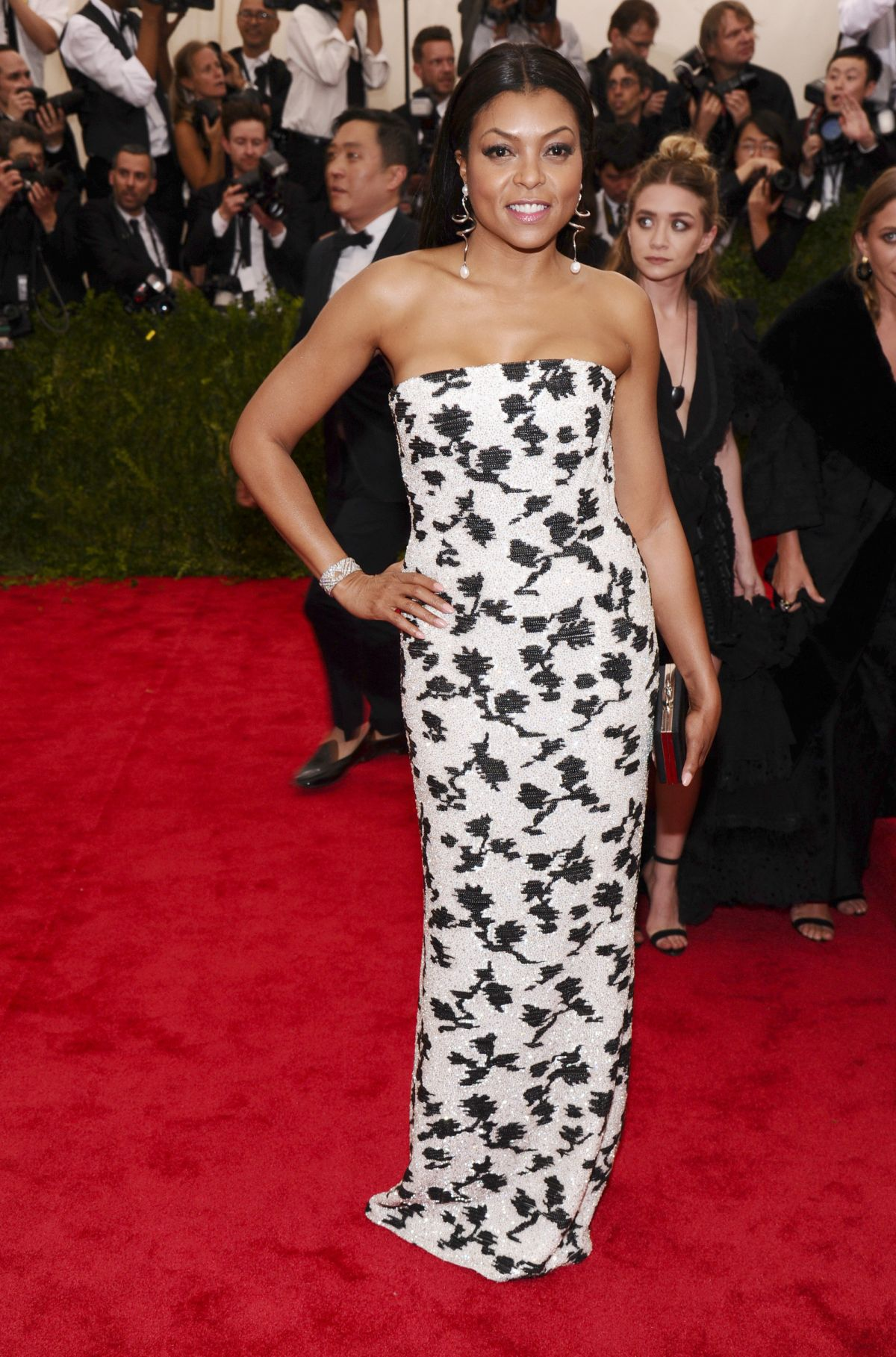 TARAJI P. HENSON at MET Gala 2015 in New York