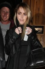 TARYN MANNING Leaves Nice Guy in West Hollywood