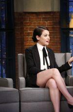 TATIANA MASLANY at Late Night with Seth Meyers