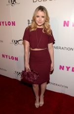 TAYLOR SPREITLER at Nylon Young Hollywood Party in Hollywood