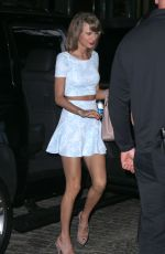 TAYLOR SWIFT and Calvin Harris Night Out in New York 05/26/2015