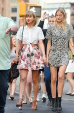 TAYLOR SWIFT, GIGI HADID and MARTHA HUNT Out in New York 05/29/2015