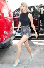TAYLOR SWIFT Leaves and Back to Her Home in New York 05/26/2016