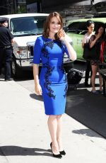 TINA FEY Leaves Late Show with David Letterman
