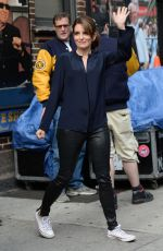 TINA Gate show with david letterman - may 20, 2015