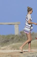 TONI GARRN and Friends on Holidays in Ibizza 05/27/2015