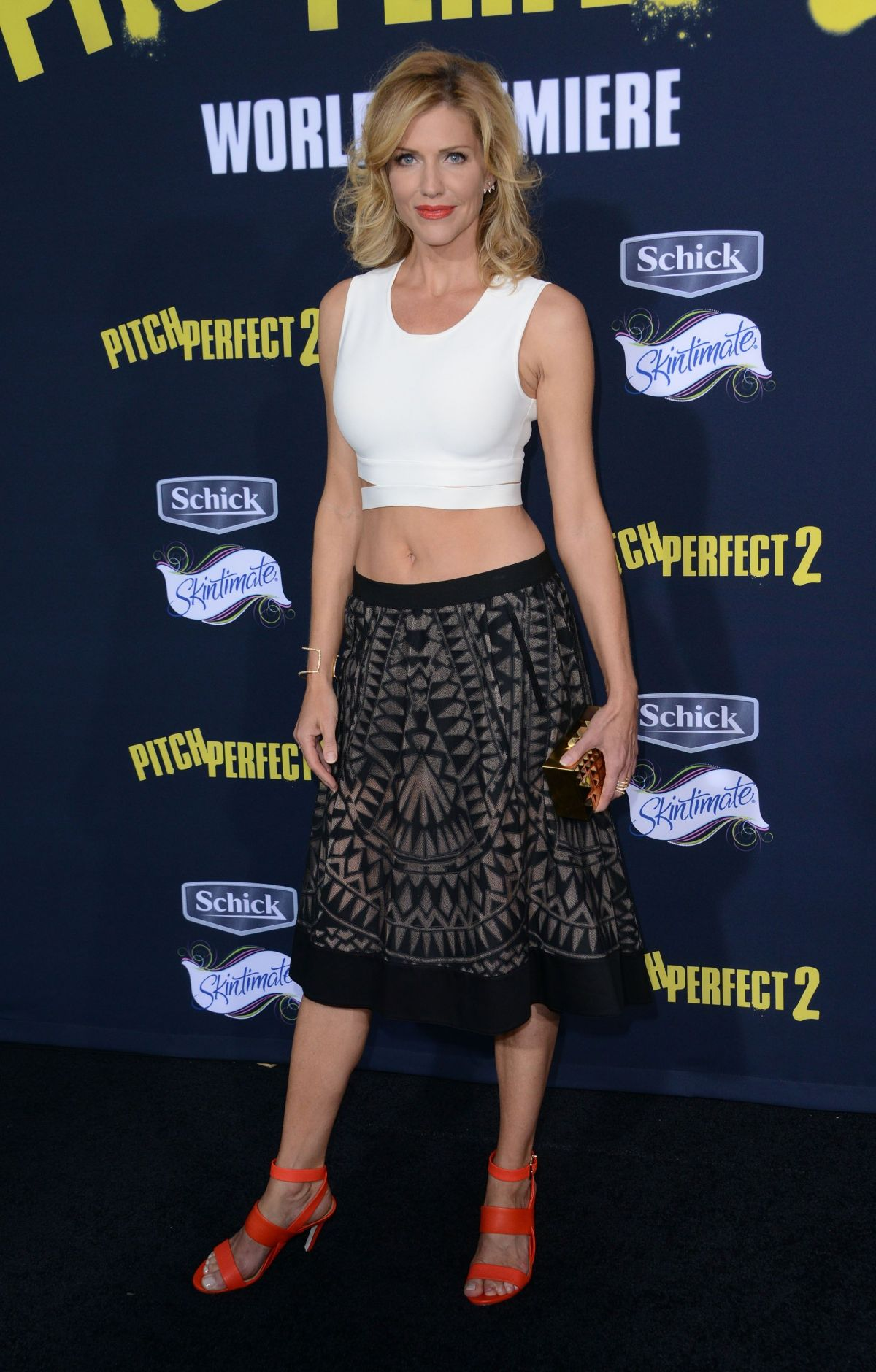 TRICIA HELFER at Pitch Perfect 2 Premiere in Los Angeles