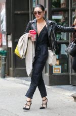 VANESSA and STELLA HUDGENS Out and About in New York 05/06/2015