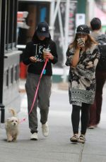 VANESSA and STELLA HUDGENS Out and About in New York 05/15/2015