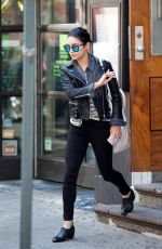 VANESSA HUDGENS Leaves Her Apartment in Soho 05/02/2015