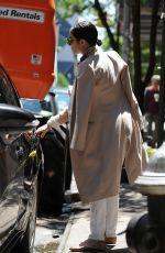 VANESSA HUDGENS Leaves Her Apartment in Soho 05/23/2015