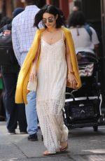 VANESSA HUDGENS Leaves Her Apartment in Soho 05/24/2015
