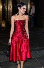 VANESSA HUDGENS Leaves Her Hotel in New York 05/04/2015