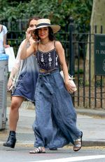 VANESSA HUDGENS Out and About in New York 05/15/2015