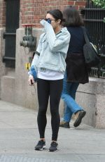 VANESSA HUDGENS Out and About in New York 05/19/2015