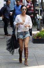 VANESSA HUDGENS Out and About in New York 05/31/2015