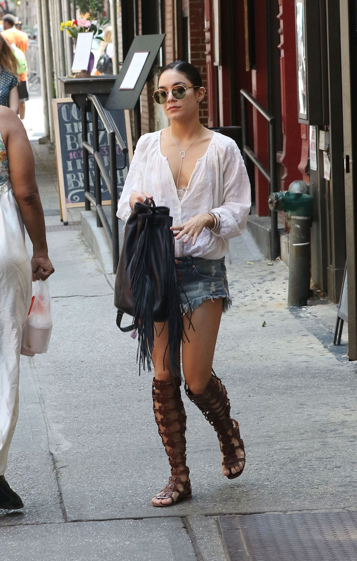 VANESSA HUDGENS Out and About in New York 05/31/2015 ... Vanessa Hudgens News