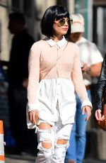 VANESSA HUDGENS Out and About New York 05/23/2015