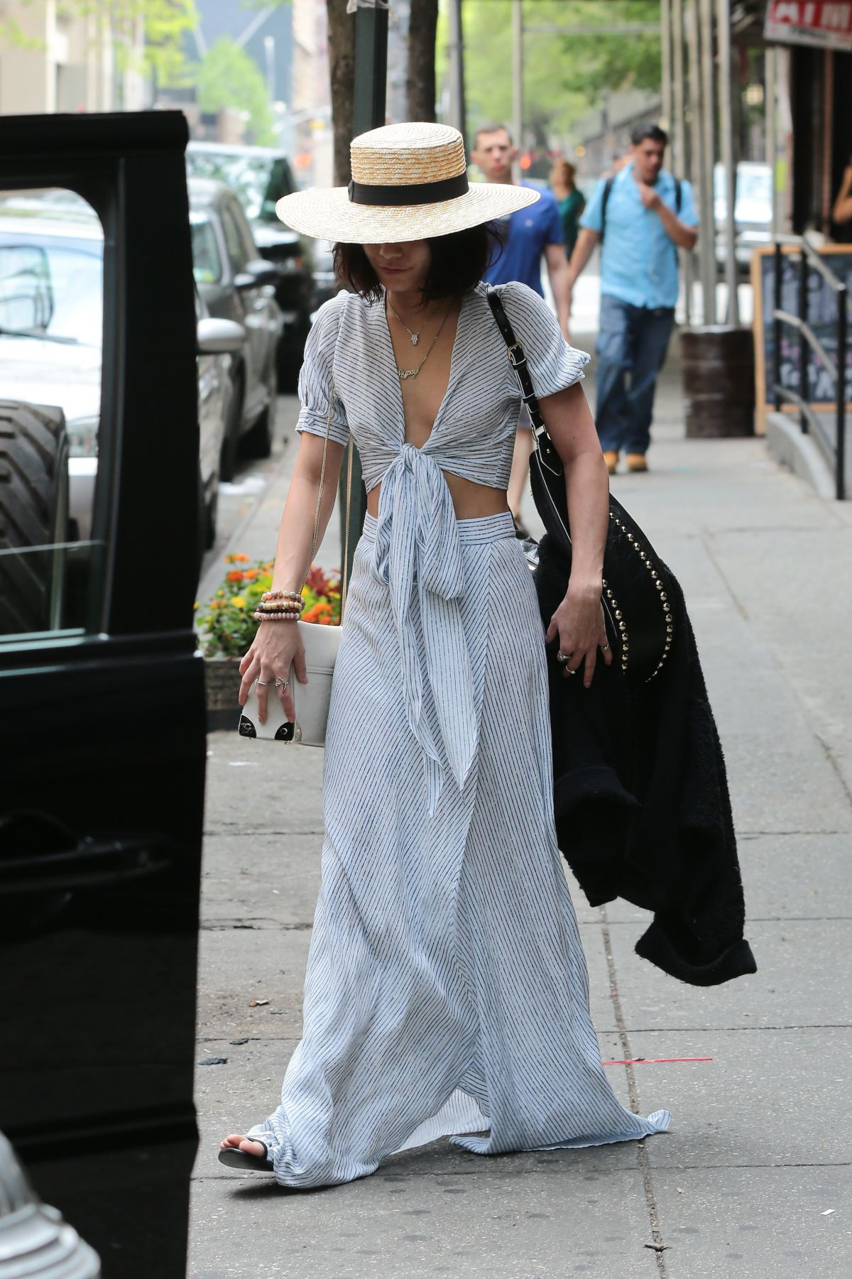 VANESSA HUDGENS Out in New York 05/10/2015