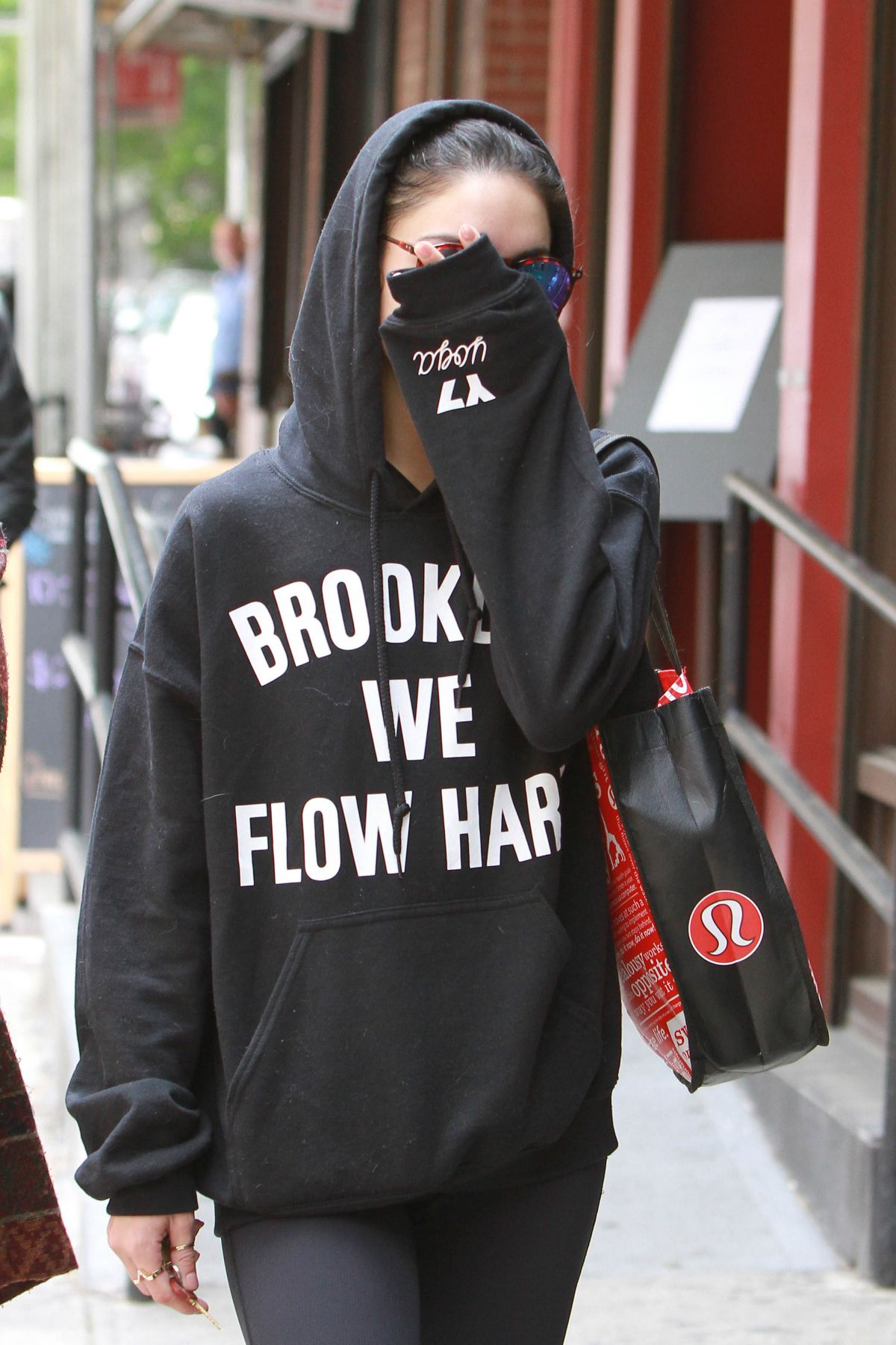 VANESSA HUDGENS Out in New York 05/20/2015