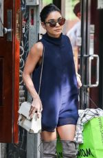 VANESSA HUDGENS Out Shopping in New York 05/13/2015