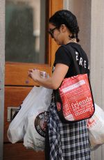 VANESSA HUDGENS Out Shopping in Soho 05/28/2015