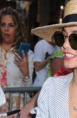 VANESSA HUDGENS Outside the Neil Simon Theatre in New York 05/10/2015