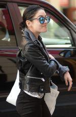 VANESSA HUDGENS Returning to Her Apartment in Soho