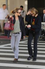 VANESSA PARADIS Arrives at LAX Airport in Los Angeles 05/01/2015