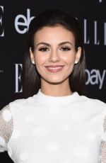 VICTORIA JUSTICE at Elle Women in Music 2015 in Hollywood